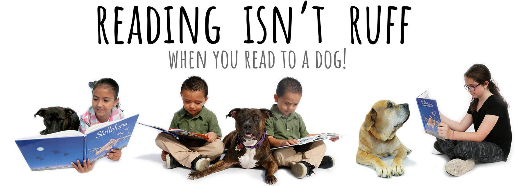 Reading Isn't Ruff