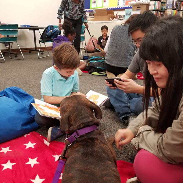 Reading Isn't Ruff children's program